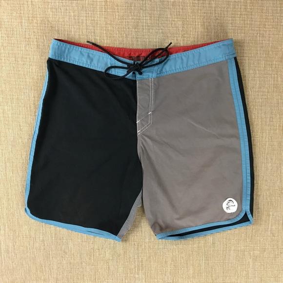 f282f6a675 O'Neill Swim | Oneill Retro Freak Board Shorts Surf Trunks 34 | Poshmark